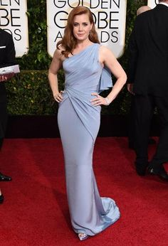 1/11/2015 - Golden Globes 2015 Red Carpet Arrivals | Amy Adams ('Big Eyes')