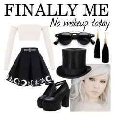 """Little me, little witchy"" by lauralydix on Polyvore featuring Ink + Alloy"