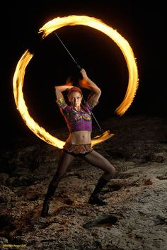 Someday I will find the time to learn fire spinning.