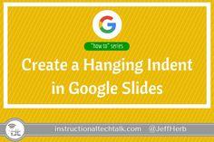 Best Of How to Hanging Indent On Google Slides