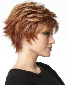 shaggy curly pixie cuts | Hairstyle Picture