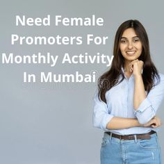 Need 5 female promoters for monthly activity in Mumbai western line. The salary is 11.5K monthly. The post Promoters required for monthly activity appeared first on Jobs and Auditions. Event Organiser, Is 11, Mumbai, Promotion, Activities, Female, Women, Bombay Cat, Woman