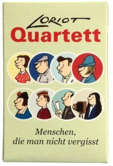 Loriot Quatett Spiel - eine Geschenkidee für die ältere Generation - via http://www.erfinderladen.com
