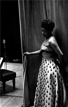 Sarah Vaughan, NYC, New York, 1950