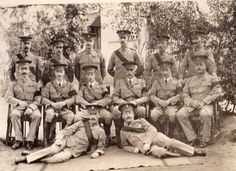2nd Battalion staff, Loyal North Lancashire Regiment at Poona, India in 1910. Thanks to Roger Morlidge #WW1 #WW1Centenary