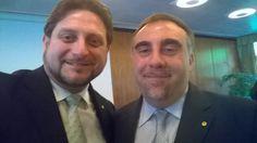 Io e il nuovo Presidente ADA Nazionale Alessandro D'Andrea