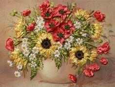 Gallery.ru / Фото #49 - Моя вышивка лентами - Svetlanka-S