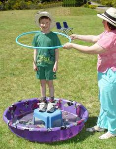 Let your kids see what it is like in a bubble. I really want to do this this summer!