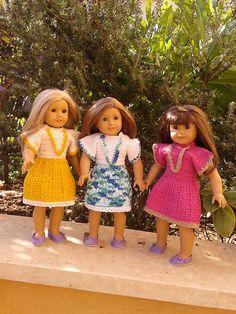 Ravelry: American Girl Doll Crochet Summer Dress pattern by Elaine Phillips