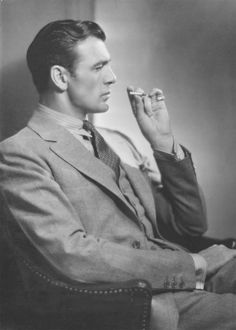 Gary Cooper photographed by Shalitt