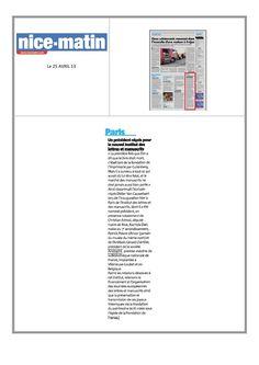 Un président niçois pour le nouvel Institut des lettres et manuscrits.  Retrouvez cet article dans le quotidien Nice matin  http://aristophilblog.com  http://www.nicematin.com/france