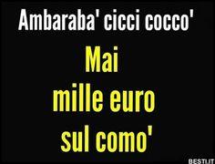 Ambarabà ciccì coccò | BESTI.it - immagini divertenti, foto, barzellette, video