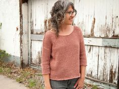 Warm Weather Knitting is Dreamy: Jaime's Davis Sweater