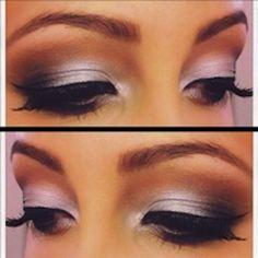 Kim Kardashian Midweek Makeup Colorful Smokey Eye