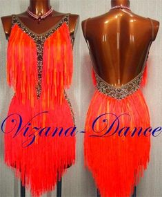 rhinestone border shows up well against fringe on this Latin dance dress, salsa, line dance, country dance, two-step Salsa Outfit, Salsa Dress, Dance Costumes Lyrical, Jazz Costumes, Latin Ballroom Dresses, Latin Dresses, Ballroom Dancing, Dance Outfits, Trendy Dresses