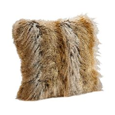 I pinned this Signature Series Tipped Fox Pillow from the Fabulous Furs event at Joss and Main!