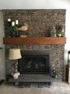 Romantic dinner: 60 decorating ideas and how to organize - Home Fashion Trend Linear Fireplace, Wooden Fireplace, Fireplace Tool Set, Fireplace Inserts, Fireplace Mantle, Fireplace Design, Mantel Shelf, Fireplace Screens, Fireplace Ideas