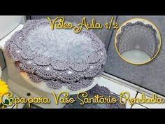 Pap- Tapete Decore Babado Duplo em Crochê - YouTube