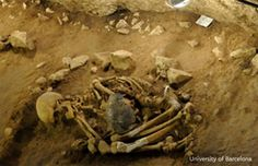 Archaeologists from the University of Barcelona in Spain have uncovered a rare Neolithic death ritual containing the remains of four individuals which are incredibly well preserved, and the funerary r