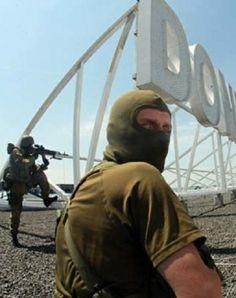 Russia invades Donetsk, Ukraine. #russianaggression