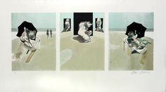 Pananti Casa d'Aste - Bacon Francis : Triptych  1974-77  (1981)  - Acquaforte e acquatinta a colori su carta Guarro - Asta Grafica ed Edizioni - III - Galleria Pananti - Casa d'Aste