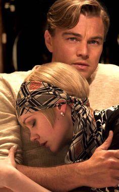 The Great Gatsby 2013. Jay Gatsby and Daisy Buchanan.
