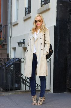 You can never go wrong with a trench coat