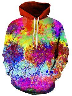 TYUING 3D Printed Mens Hoodie Drawstring Trendy College Long Sleeve Hoody Sweatshirts
