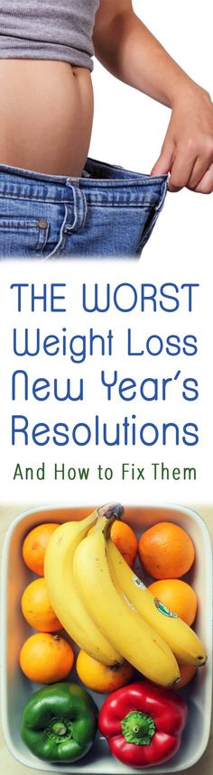 I share the worst weight loss new year's resolutions that I hear daily as a dietitian and how to fix them so that you can actually meet your goals!