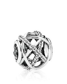 $50 as of 12/3/14 this looks so cool PANDORA Charm - Sterling Silver & Cubic Zirconia Galaxy | Bloomingdale's