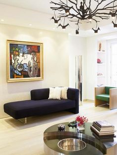 Love the Willy Rizzo Table: Adriana Friedman's Manhattan apartment