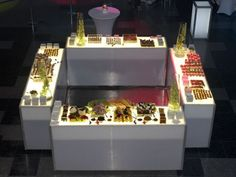 food stations The Party Goddess! Marley Majcher ThePartyGoddess.com #food #station