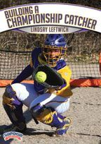 Building a Championship Catcher - Lindsay Leftwich shares her extensive knowledge of the catching position including framing, blocking, throwing, and fielding bunts. For each skill, Coach Leftwich provides you with a thorough explanation of the mechanics involved, explains why the mechanics are such, and offers several drills and work-ups.