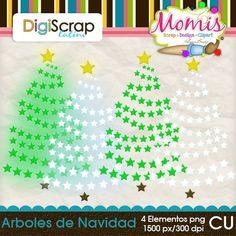 Arboles de Navidad - $1.50 : DigiScrap Latino
