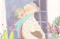 nieto besando a su a