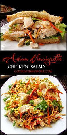 Asian Vinaigrette Chicken Salad