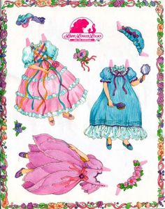 * 1500 free paper dolls at Arielle Gabriels The International Paper Doll Society also free paper dolls The China Adventures of Arielle Gabriel * Vintage Paper Dolls, Vintage Toys, Lady Lockenlicht, History Of Paper, Lady Lovely Locks, Paper Art, Paper Crafts, Storybook Characters, Paper Dolls Printable