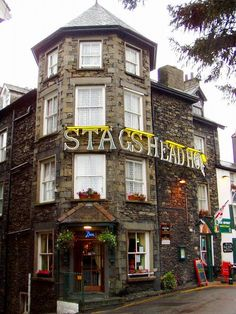This is a hotel in Bowness-on-Windermere.
