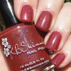 The PolishAholic: KBShimmer Men Are From Mars-ala Swatches & Review