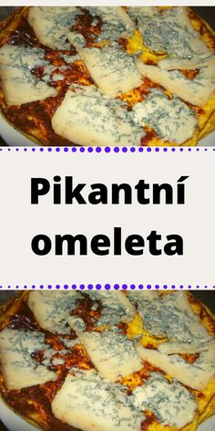 Pikantní omeleta Interesting Recipes, Cheesesteak, Cereal, Good Food, Breakfast, Ethnic Recipes, Red Peppers, Morning Coffee, Healthy Food