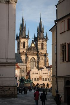 Old Town Square, Prague_ Czech Republic
