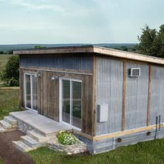 Reclaimed Space: cabins made from salvaged materials - Materialicious