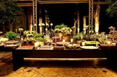 Decoração Descontraída e Chique | Vestida de Noiva | Fernanda Floret | Blog de casamentos cheios de amor de todo o Brasil