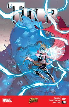 New feminist Thor is selling way more comic books than the old Thor - By close to comic books per month! When Marvel introduced the newly rebooted Thor comic book last October, some fans were bothered by the fact that Thor is now a woman. Thor Comic Book, Comic Books, Thor 2, Thor Marvel, Marvel Women, Comics Online, Comic Covers, Box Art, Marvel Comics