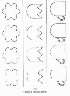 Albumarchívum - Kéztorna feladatlapok Activities For Autistic Children, Brain Gym, Preschool Worksheets, Speech Therapy, Crafts For Kids, Kids Rugs, Math, Adhd Kids, Toddler Activities