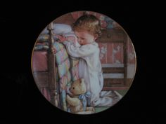 Your place to buy and sell all things handmade Bedtime Prayer, Vintage Crockery, Danbury Mint, American Greetings, Prayers, Painting, Etsy, Art, Art Background