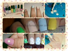 Life of a mad typer: Easter nails (#newbie) Tutorial