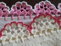 Barrados de Croche: Barrado Flor