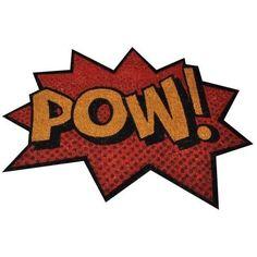 Capacho Pow! Dc Comics