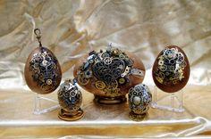 Steampunk Easter Eggs